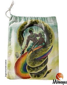 Sacola de Guia Oxumarê - Serpente e arco-íris