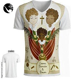 Camiseta Full Cosme, Damião e Doum