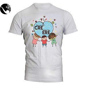 Camiseta Gente que crê na magia do Erê