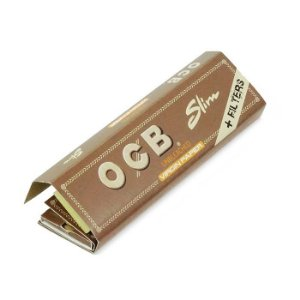 PAPEL PARA CIGARRO OCB SLIM UNBLEACHED + FILTERS