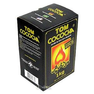 CARVÃO TOM COCOCHA CUBICO PREMIUM GOLD 1 KG