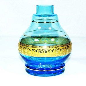 VASO MD HOOKAH JUMBINHO - SEA BLUE (AZUL MAR)