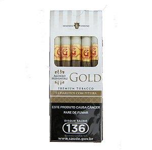 CIGARRILHA - GOLD TRADICIONAL C/ PITEIRA