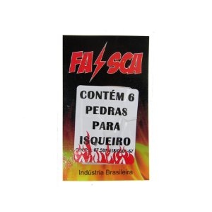 PEDRA PARA ISQUEIRO FAÍSCA C/6