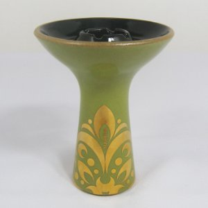 ROSH MUKABOWL ARABIC GREEN AND GOLD
