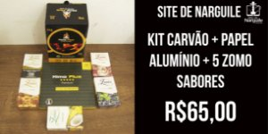 Kit Fumaça Kimo Plus + Zomo