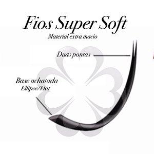 Cílios  Fio a Fio  -  0.15 -  Super Soft -