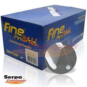 Pino Fine Pin Ball ANTIFURTO - Caixa com 5.000 pinos