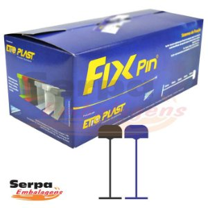 Fix Pin Normal PRETO - Caixa com 5.000 pinos