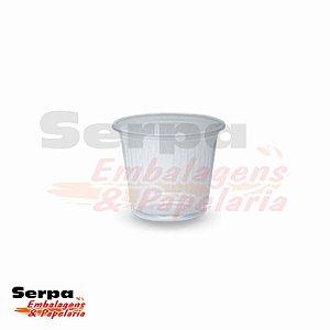 Copo Plástico 50ml Branco ou Transparente - Caixa 5.000 ou Pacote 100 unidades TOTALPLAST