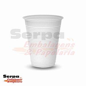 Copo Plástico 200ml Branco ou Transparente - Caixa 2.500 ou Pacote 100 unidades TOTALPLAST