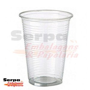 Copo Plástico 400ml Transparente - Caixa 1.000 ou Pacote 50 unidades - COPOZAN