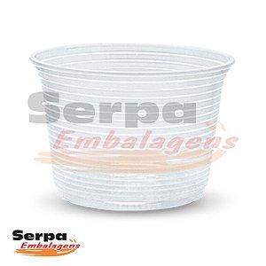 Pote Plástico 250ml - Transparente - Caixa 1.000 ou Pacote 50 pcs - TOTALPLAST