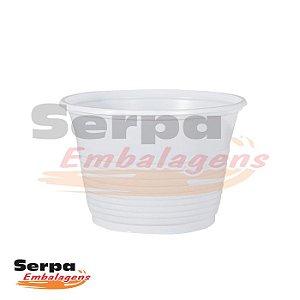Pote Plástico 100ml - Branco - Caixa 2.000 ou Pacote 100 pcs - COPOZAN