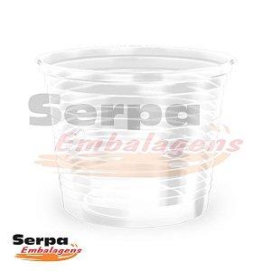 Pote Plástico 250 ml PP - Transparente - Caixa 1.000 ou Pacote 50 pcs - COPOZAN