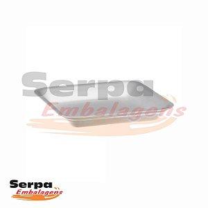 Bandeja de Isopor Branca 01 - Caixa 100 ou 400 unidades