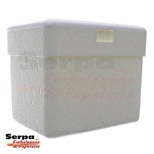 Caixa Térmica de Isopor 8 Litros - ISOTERM