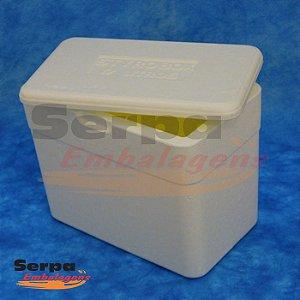 Caixa Térmica de Isopor 17 Litros - STYROBOX