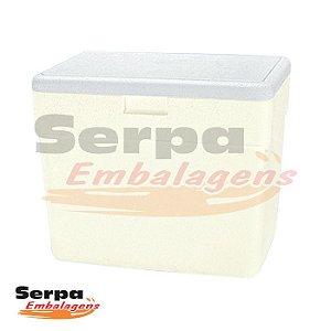 Caixa Térmica de Isopor 27 Litros - ISOTERM