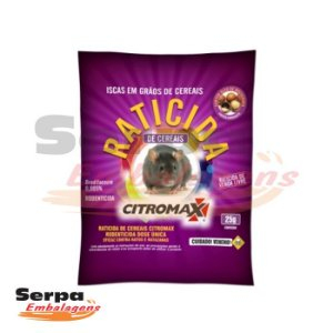 Raticida Mix de Cereais com Alta Atratividade 25g