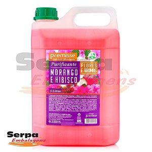 Sabonete Líquido MORANGO E HIBISCUS 5 Litros - Premisse