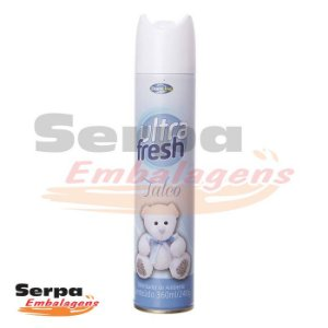 Bom Ar Aerossol Ultra Fresh Talco 360ml