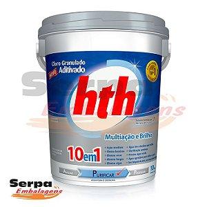 hth® Cloro Granulado Hipoclorito Cálcio 10 EM 1 HTH 11KG