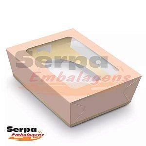 Caixa de Ovo de Colher ROSA 250gr