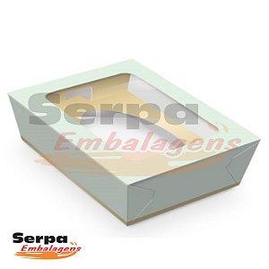 Caixa de Ovo de Colher VERDE 500gr