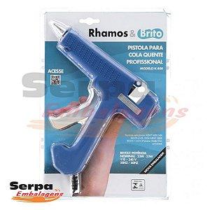 Pistola Profissional para Cola Quente Rhamos & Brito K-800