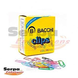 Clips Coloridos 4/0 com 50 unidades BACCHI