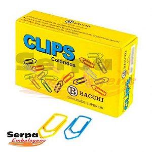 Clips Coloridos 6/0 com 50 unidades BACCHI