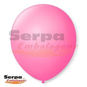 Balão n°7 Rosa Tutti Frutti - Pacote com 50 unidades