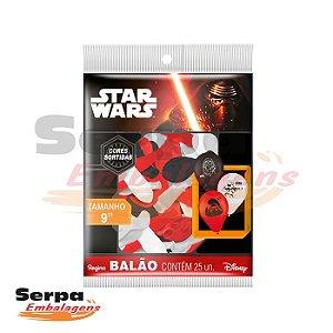 Balão n°9 Star Wars - Pacote com 25 unidades