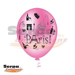 Balão n°10 Paris - Pacote com 25 unidades