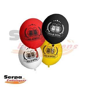 Balão n°10 Festa de Boteco - Pacote com 25 unidades