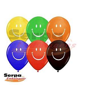Balão n°10 Smile - Pacote com 25 unidades