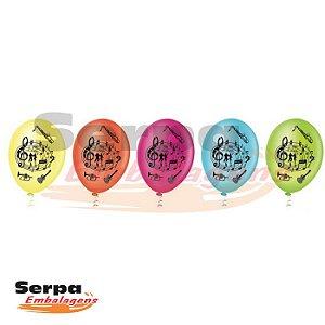 Balão n°9 NEON - Pacote com 50 unidades