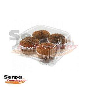 Embalagem para 4 Cupcakes NP 15