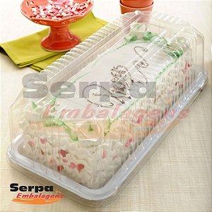 Embalagem para Torta Retangular Pequena - 2Kg G 55M