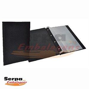 Pasta Catálogo 10 Envelopes Plásticos