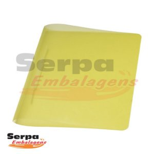 Pasta Grampo Trilho Amarelo - ACP