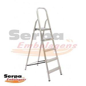 Escada de Alumínio 5 DEGRAUS MAESTRO