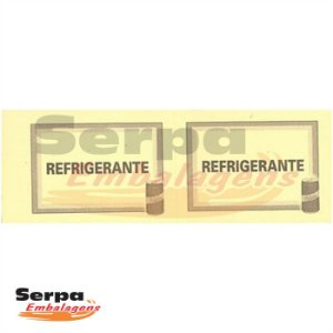 Ticket de Refrigerante com 100 unidades - 152x53mm