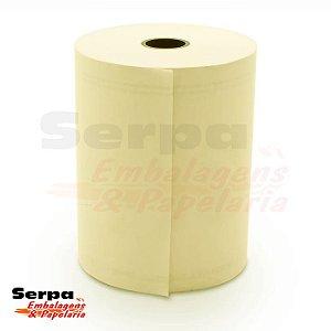 Bobina para Cupom Fiscal 80x40 1 Via Amarela KPH 48G R-45 - REGISPEL