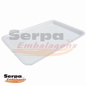 Bandeja de Isopor Branca 16 - Caixa 100 ou 200 unidades
