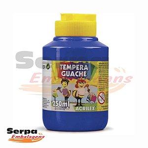 Tinta Guache 250ml AZUL TURQUESA