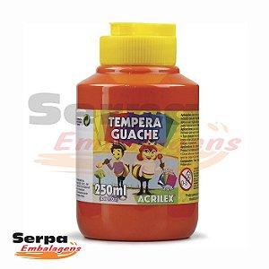 Tinta Guache 250ml Vermelho Fogo