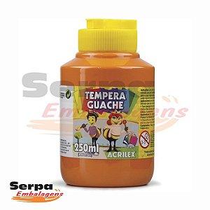 Tinta Guache 250ml Laranja