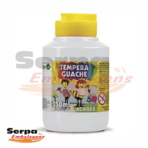 Tinta Guache 250ml Branca